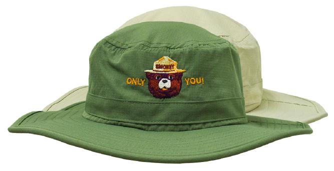 026fe33eb Our Newest Smokey Bear Items! - Amazing Sun Hat