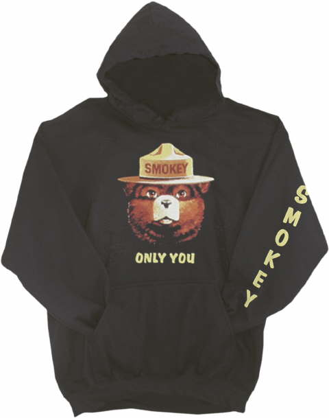 Childrens Clothing Smokey Hooded Youth Sweatshirt